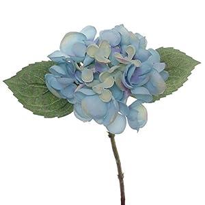 """Lily Garden 12.5"""" Silk Hydrangea Flower Spray - case of 6 (Blue) 71"""