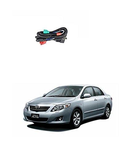 carbazaar car h4 headlight relay wiring harness relay- toyota corolla:  amazon in: car & motorbike