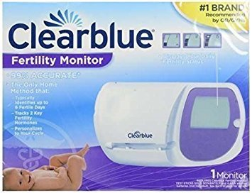 clearblue easy fertility monitor test sticks 30 count pack of 1 health. Black Bedroom Furniture Sets. Home Design Ideas