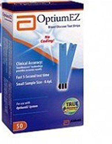 Optium EZ bandelettes de test de surveillance de la glycémie (BANDE DE TEST OPTIUMEZ, 100S) 100 Chaque / boîte