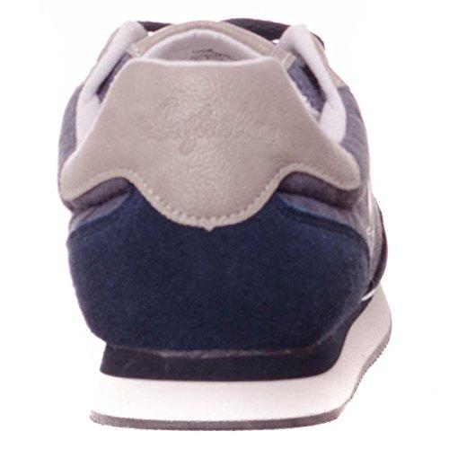 Uomo Pelle Australian Sneaker Bassa Scamosciata Au227 5BwqrFwxEA