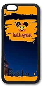iPhone 6 Cases, Personalized Custom Soft TPU Black Edge Case Cover for New iPhone 6 4.7 inch Halloween 11