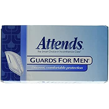 Attends Male Guards, Bladder Control Guards For Men, MG0400 - Pack of 16