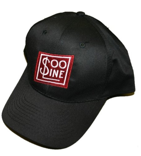 (Daylight Sales Soo Line Railroad Embroidered Hat [hat38] Black)