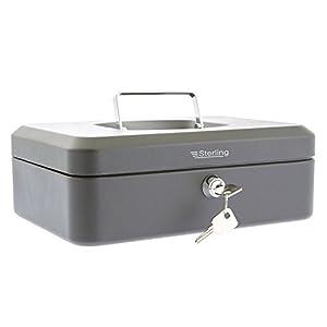 Burg Wachter CB03GR Cash Box, Black, 10″