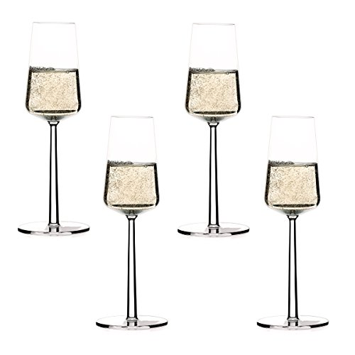 Essence Champagne Glass - Iittala - Essence Champagne Flute, Set of 4
