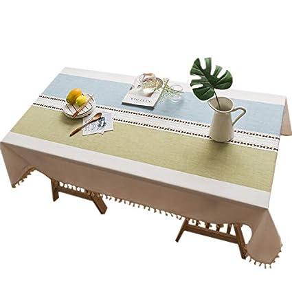 225 & Amazon.com: Beacon Pet Cotton Linen Washable Table Cover Dust-Proof ...