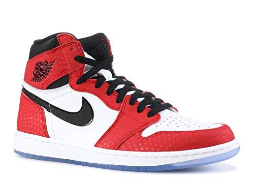 Nike Men's Air Jordan 1 Retro High OG 'Origin Story' Red/White 555088-602 (Size: - High Og Jordan 1 Retro