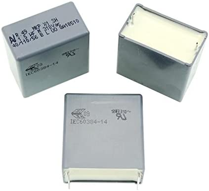 1,5/µF 310V AC ; 27,5mm ; R49AR41500001M ; 1,5uF 10x MKP-Condensateur rad