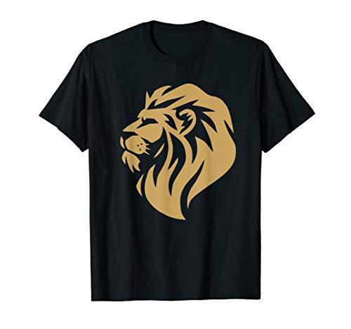 Brave Hunter Lion T-shirt Men Women Kids Wearing]()