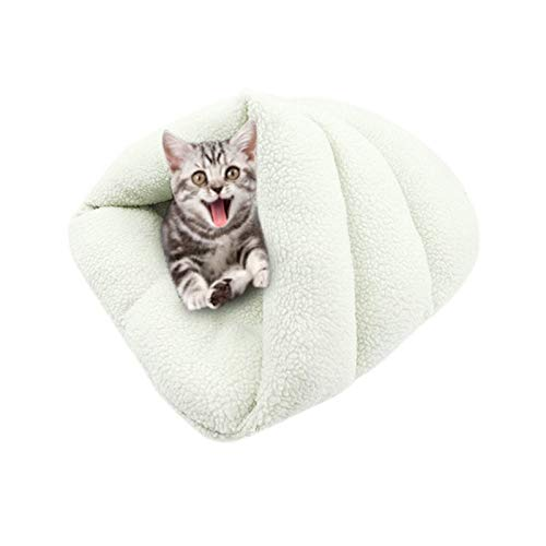 (ATUSY PET Warm Soft Cashmere Sleeping Beds Hot Dog Bed & Mats House Kennel Sofa for Small Medium Dogs Cats Accessories)