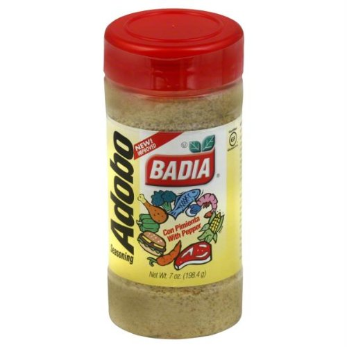 (Badia Adobo Seasoning with Pepper, 7 oz)