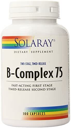 Vitamins & Supplements: Solaray B-Complex 75
