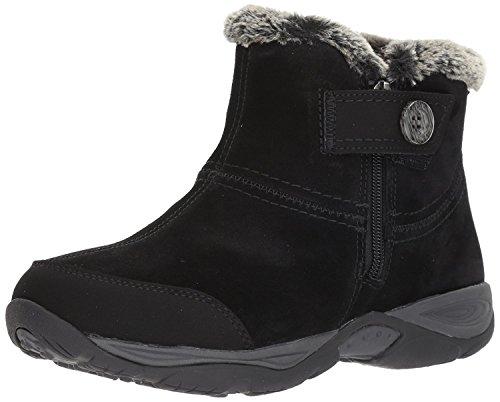 - Easy Spirit Women's Eliria Ankle Bootie, Black/Multi Suede, 5 M US
