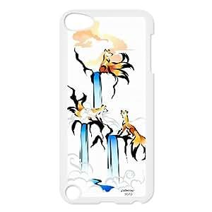 High Quality {YUXUAN-LARA CASE}Foxy Fairy Animal Fox FOR Ipod Touch 5 STYLE-11