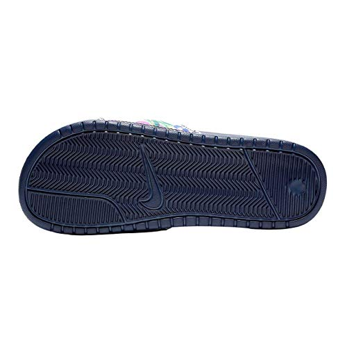 Shoes Print 405 WMNS Women's Fitness Nike Cobalt Navy Benassi JDI Blaze Midnight Multicolour q1S6wnTgYx