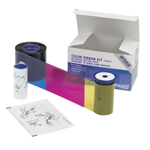 - Datacard 534000-112 Color Ribbon & Cleaning Kit - YMCKT - 125 prints