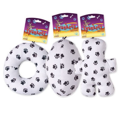 SPUNKEEZ CANVAS PAW PRINTS 6'' #35019, CASE OF 144 by DollarItemDirect