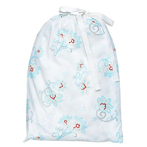 Fitted Crib Sheet in a Bag - Princess Petal Poplin