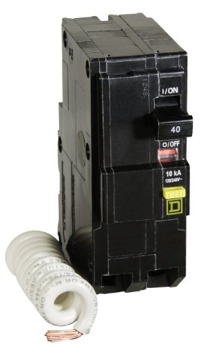Square D by Schneider Electric QO240GFICP QO 40-Amp Two-Pole GFCI Breaker ()