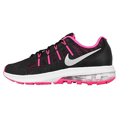 Nike Kids Air Max Dynasty (GS) Blk/Mtllc Slvr Hypr Pnk WLF Gr Running Shoe 6.5 Kids US