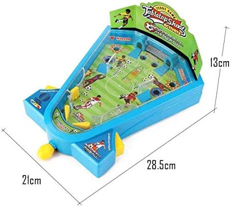 Pinball fútbol Juguete Mini futbolín/electrónico Juego de tiros y Habilidad/para niños y niñas a Partir de 4 años: Amazon.es: Juguetes y juegos