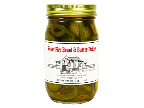 Byler's Sweet Fire Bread & Butter Pickles - (Two Pack) ()