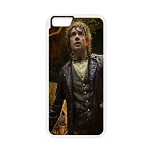 The Hobbit Bilbo Baggins iPhone 6 Plus 5.5 Inch Cell Phone Case White Delicate gift JIS_417969