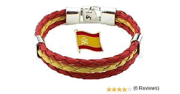 Tanto Badges Pulsera de la Bandera de España e Insignia del Pin de ...