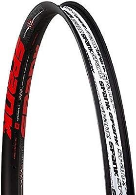 Spank sp-rim-0163-b/Red Llanta de Bicicleta Unisex, Color Negro ...