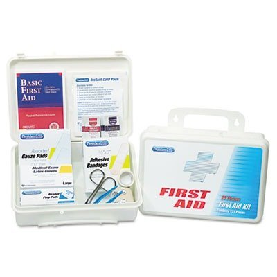 ACE60002 - Office First Aid Kit, For Up To 25 People, 131 Pieces
