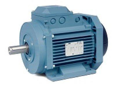 Baldor Electric, MM09152-AP, 2 HP, 3510;2900 RPM, 3PH, 460V;230V;208V, 90 Frame, Standard Flange, Foot Mount, TEFC, IEC Metric Motor