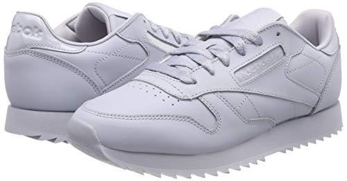 cloud De Femme Gris Chaussures 0 Lthr Grey Reebok Cl Fitness Ripple wOxgH