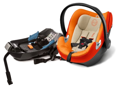 Cybex Aton Q Infant Car Seat - Autumn Gold