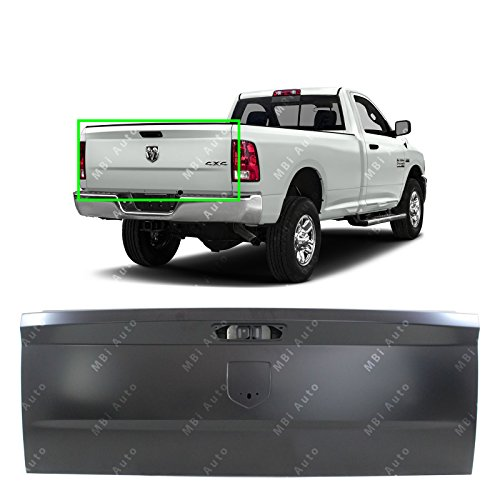 MBI AUTO - Primered Steel, Tailgate Shell for 2009-2018 RAM 1500 2500 3500 Pickup 09-18, CH1900129