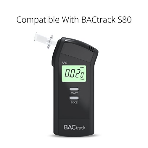 BACtrack Professional Breathalyzer Mouthpieces (20 Count) | Compatible with BACtrack S80, Trace, Scout,  Element & S75 Breath Alcohol Testers by BACtrack (Image #2)