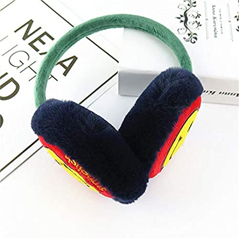 Childrens Ear Muffs Kids Girls Winter Warm Faux Fur Plush Ear Warmers Earmuffs