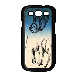Customized Dual-Protective Case for Samsung Galaxy S3 I9300, Colored Elephant Cover Case - HL-697426 wangjiang maoyi
