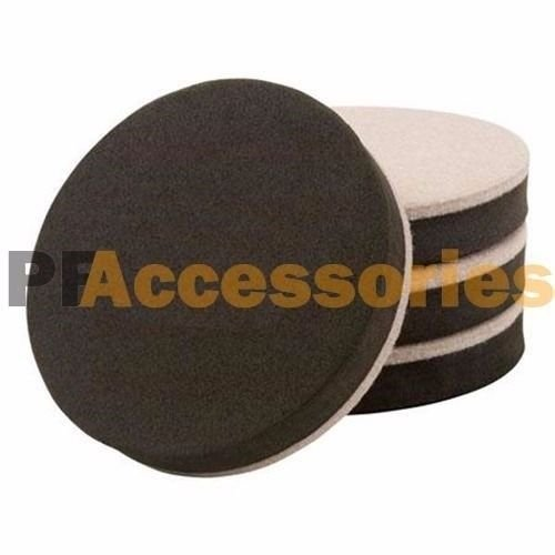 4 Pcs Soft Furniture Slider Pads Floor Protector for Hard Wood Floor Magic Smart (Patio Tiles Home Depot Rubber)