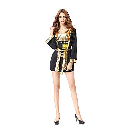 LCMJ WS Boxing Suit Halloween Costume, Cloak with Hood, for Men and Women, Party Cos Play (Color : -