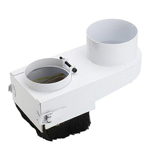 ZHENWOFC 80mmスピンドルダストシューカバーCNCルーター防塵シュー掃除機 New B07RV5FPMP