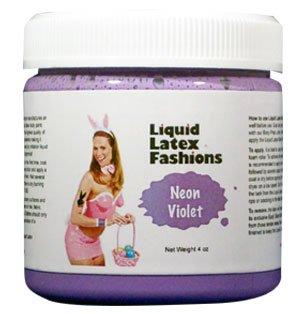Peinture ammoniac liquide sans latex Body - 4 oz Neon Violet