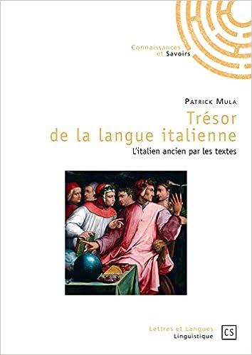 Amazon Fr Tresor De La Langue Italienne Patrick Mula