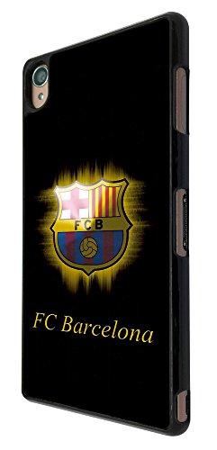 Barcelona Football Logo Sport Design Sony Xperia Z1 COOL FUN CASE BACK Cover