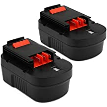 [Patrocinado] Creabest New 2Packs 3500mAh Ni-MH Replacement for Black & Decker 14.4V Battery HPB14 FireStorm 499936-34 499936-35 FSB14 FS140BX A14 A1714 A144EX BD1444L CP14KB HPD14K-2