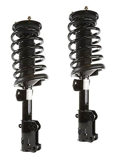 DTA 50145 Front Complete Strut Assemblies With Springs and Mounts Ready to Install OE Replacement -2-pc Pair Fits 2005-2010 Ford Mustang