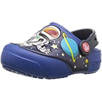 Crocs Kids' Fun Lab Space Explorer Light-up Clog
