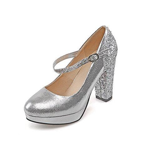 1TO9 , Escarpins pour femme silver