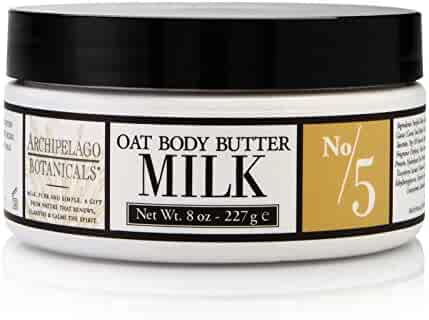 Archipelago Botanicals Milk Oat Body Butter, 8 Fl Oz