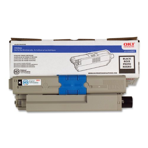 OKI 44469802 Toner Cartridge, 5K Yield, Black ()